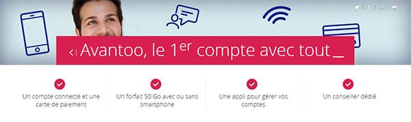 Crédit Mutuel Mobile : offre Avantoo
