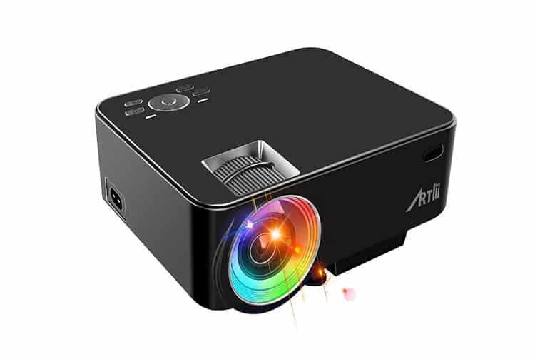 ARTLII Vidéoprojecteur Portable LED