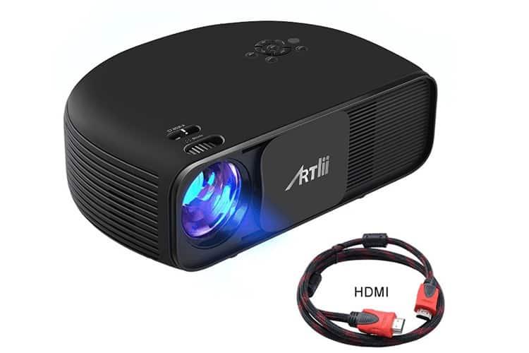 Artlii Vidéoprojecteur LED