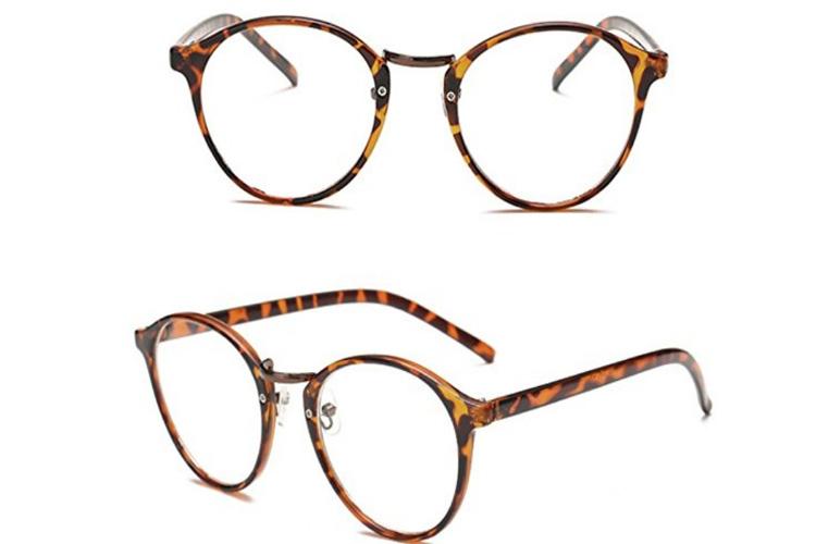 Focal lunettes écailles marron lunettes anti-lumière bleue
