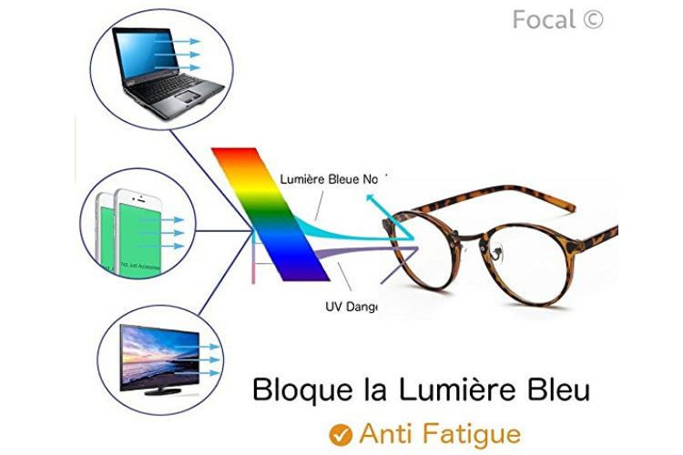 Focal lunettes écailles marron test