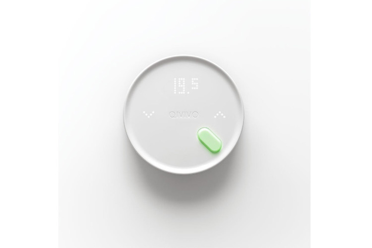 Qivivo QTW12-EW-CO-EU Thermostat connecté
