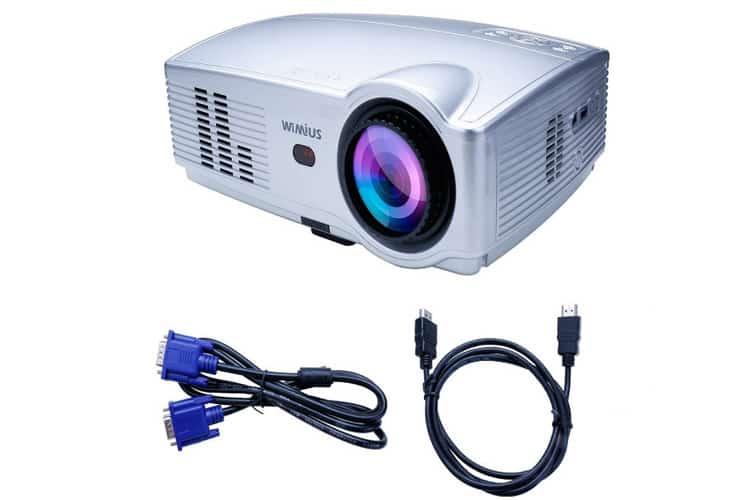 WiMius T4 Projector vidéoprojecteur LED
