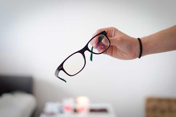 test lunette anti lumière bleue
