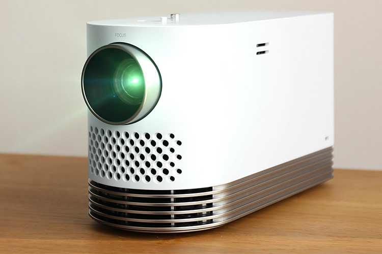 test vidéo projecteur