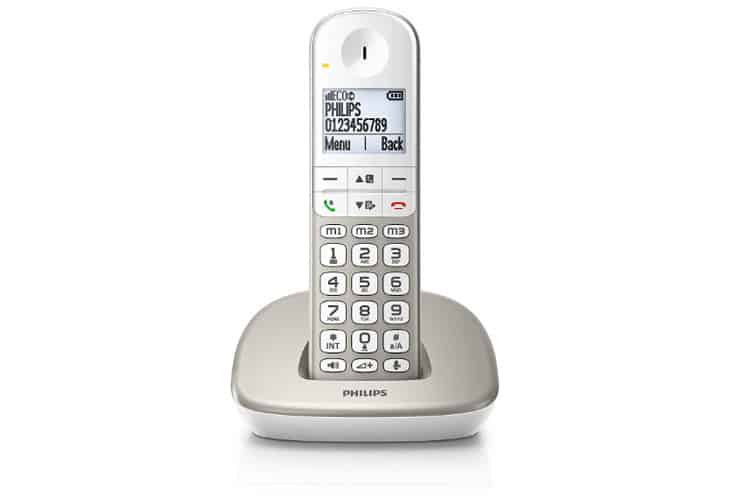 Philips XL4901S/FR Téléphone sans fil