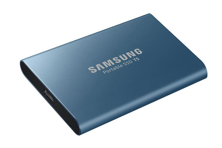 Samsung Portable SSD T5 test