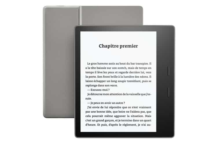 Amazon Kindle Oasis avis