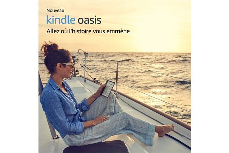Amazon Kindle Oasis liseuse