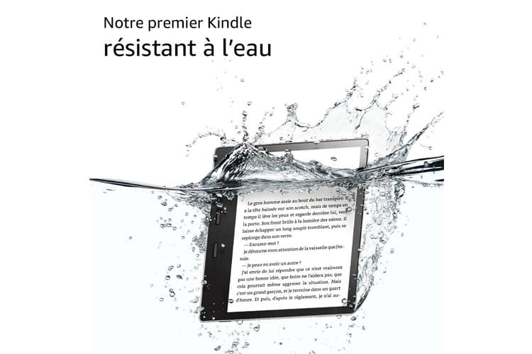 Amazon Kindle Oasis test