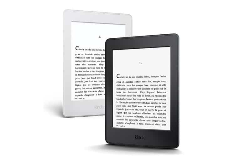 Amazon Kindle Paperwhite test