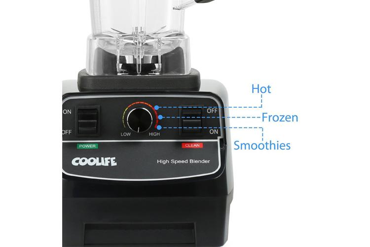Coolife Blender Smoothies test