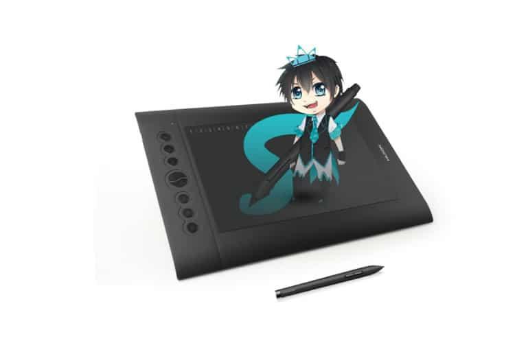 Huion H610 Pro tablette graphique