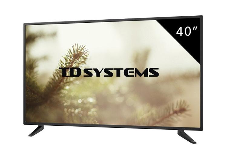 TD Systems K40DLM7F téléviseur