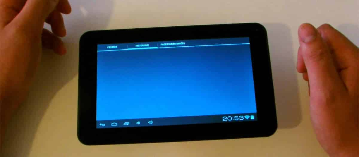 avis tablette tactile