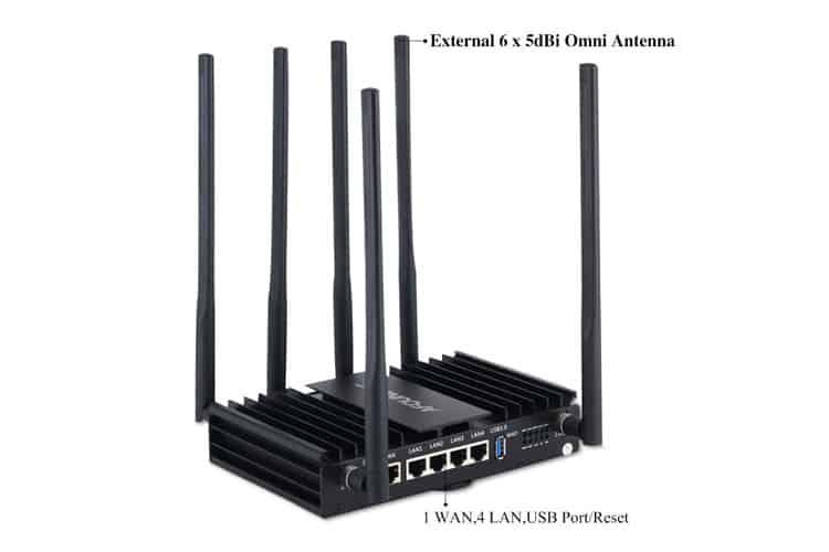 Afoundry Routeur Wi-Fi Gigabit AC test