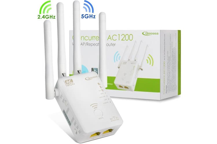Qoosea Répéteur Wi-Fi répéteur wifi