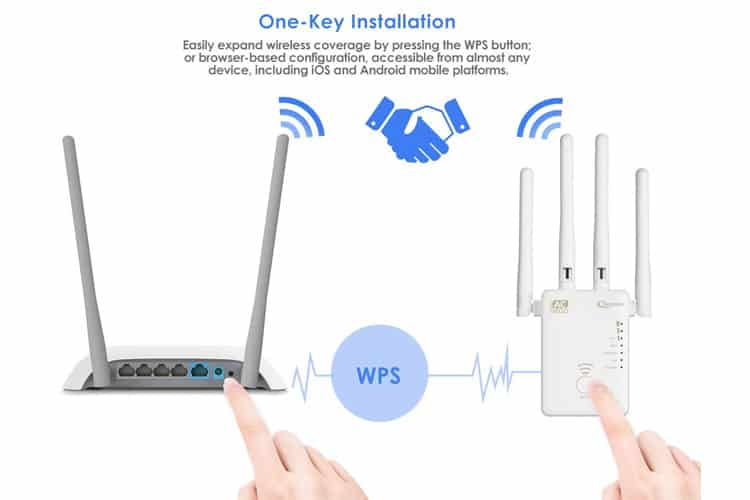 Qoosea Répéteur Wi-Fi test