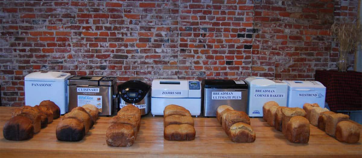 comparatif machine à pain