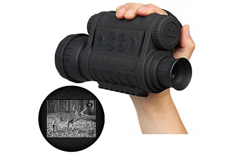 Boblov Monoculaire WG-50 jumelle à vision nocturne