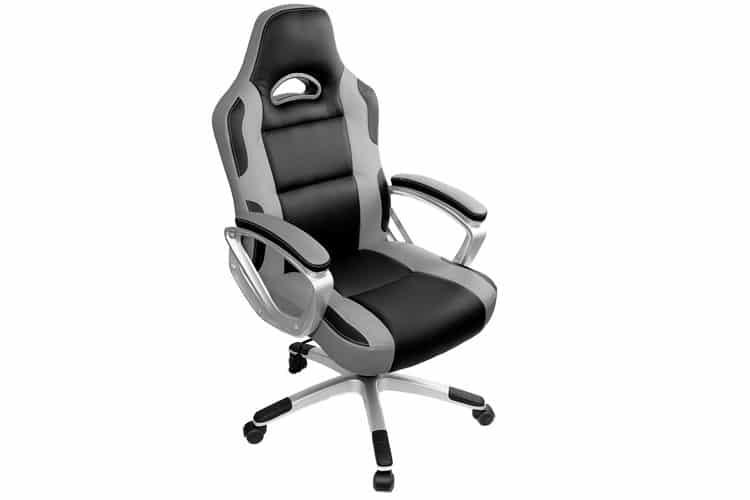 IWMH Gris chaise gamer