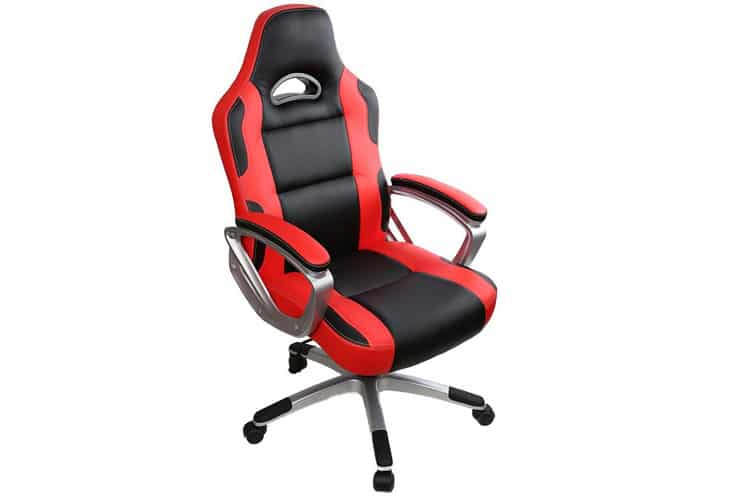 IWMH Rouge Chaise Gamer