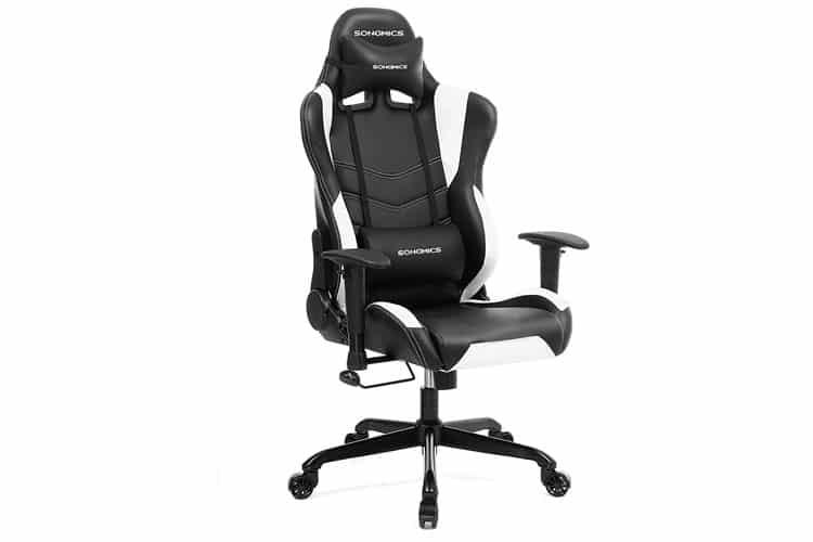 Songmics RCG12W chaise gamer