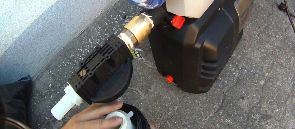 meilleure pompe à eau