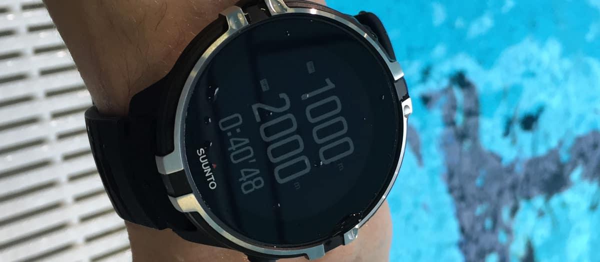 montre natation pas cher