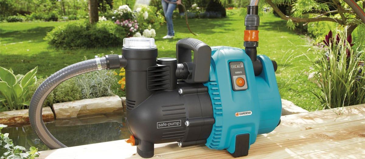 test pompe à eau