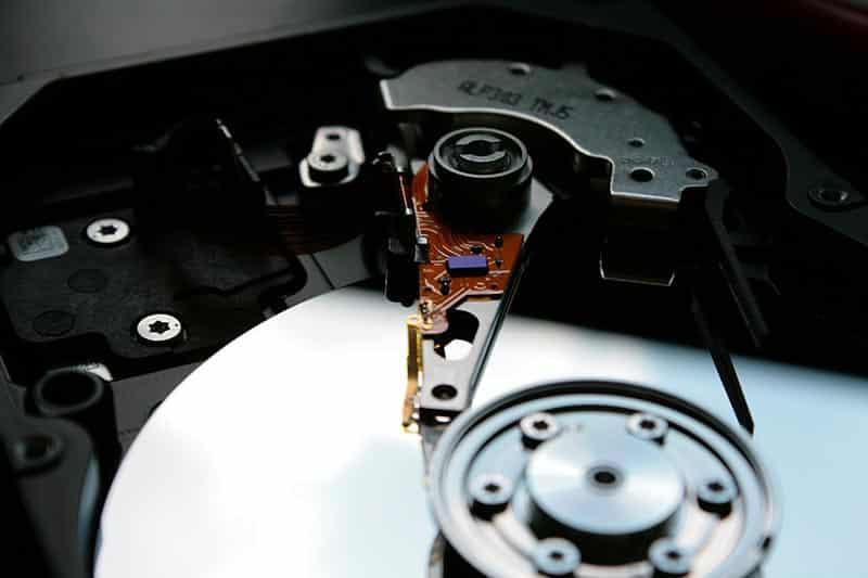 disque dur bruit