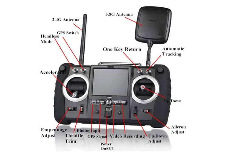 Hubsan H501S X4 Pro test