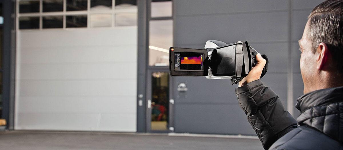 test caméra thermique