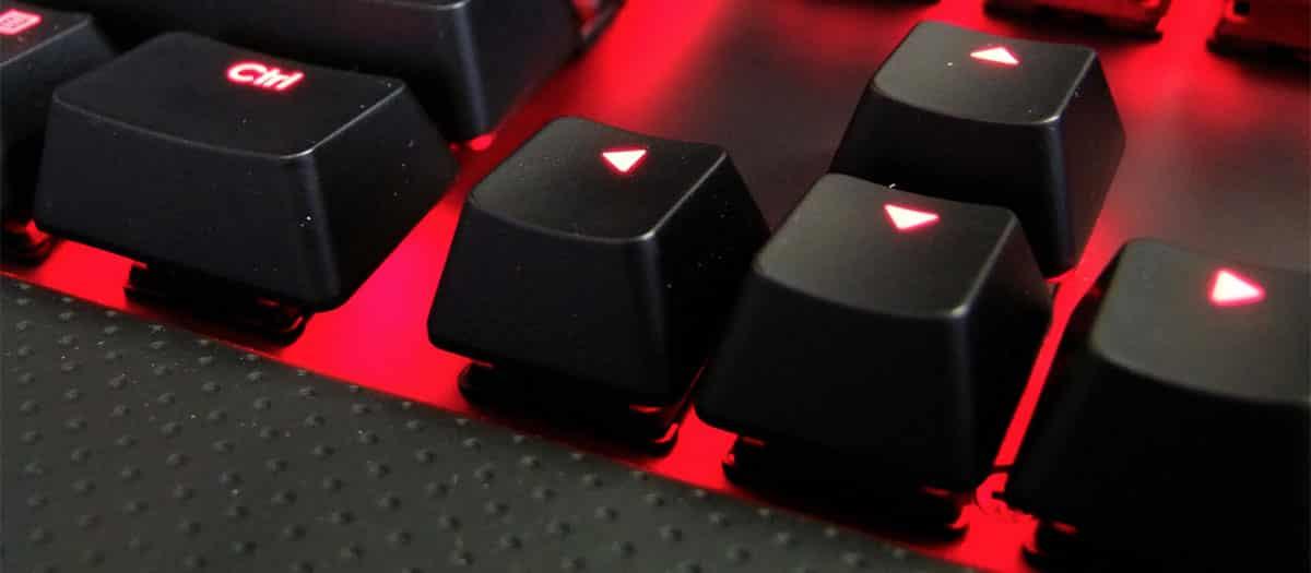 test clavier mécanique