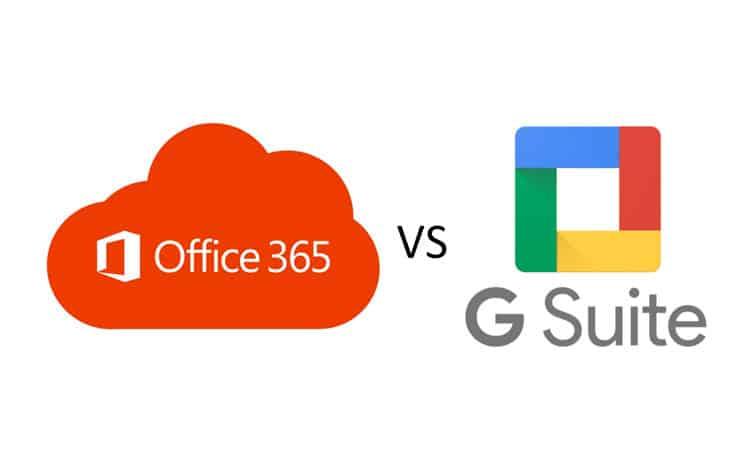 Google Suite ou Office 356 ?