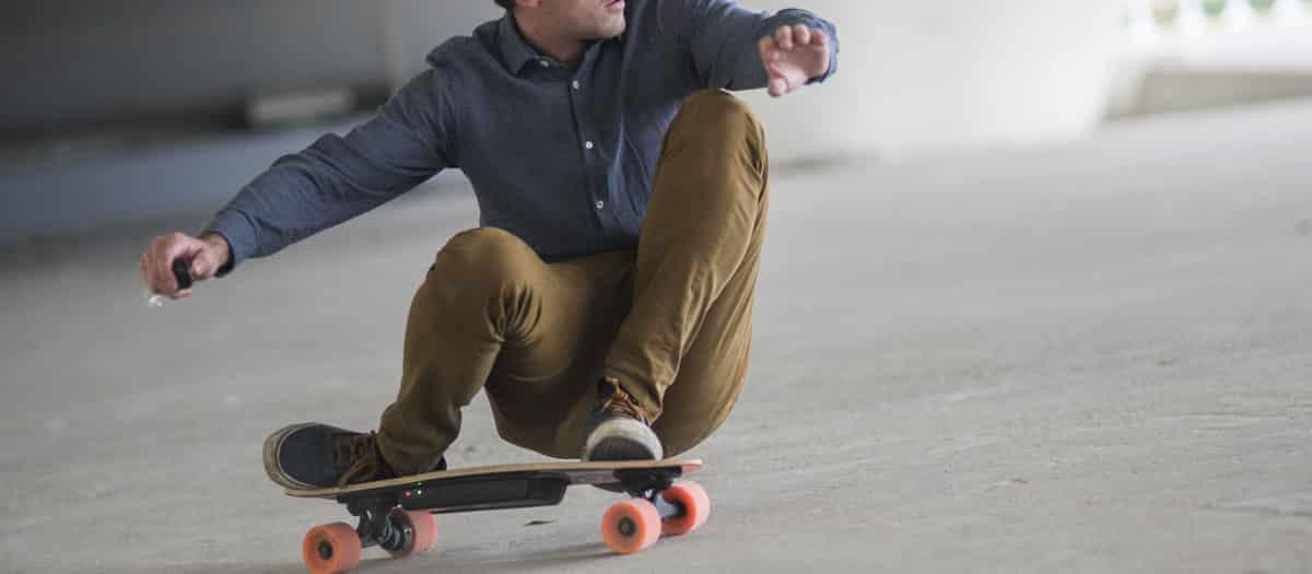 test skate électrique