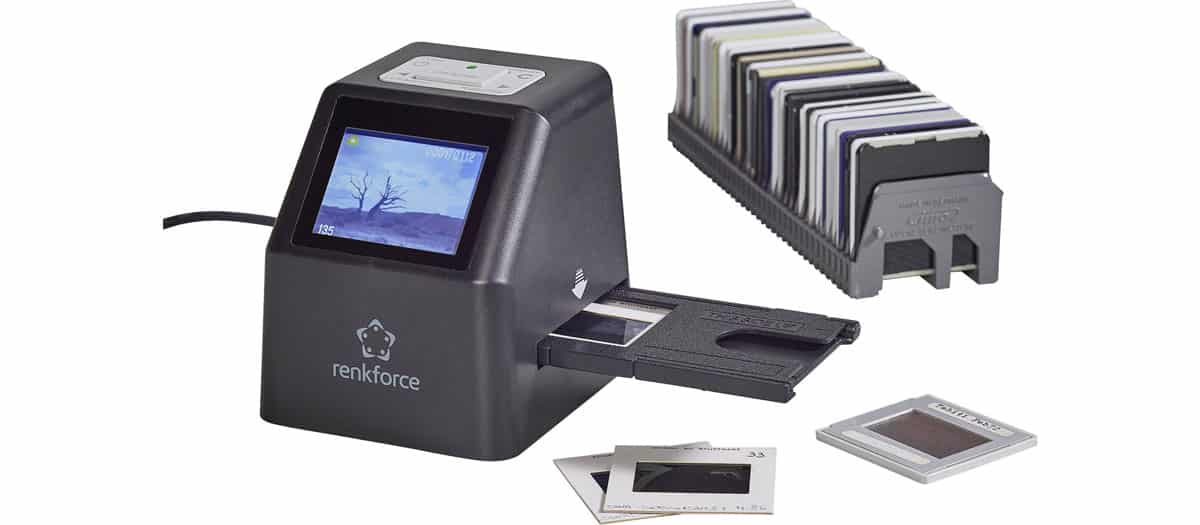 achat scanner diapositive
