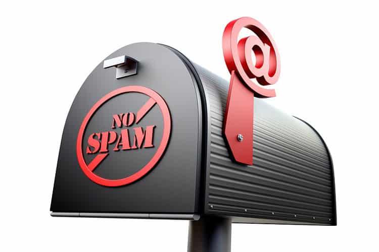protéger boite mail spam virus phishing