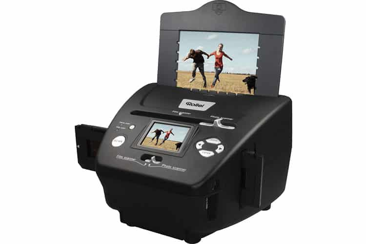 Rollei PDF-S 240 SE scanner diapositive