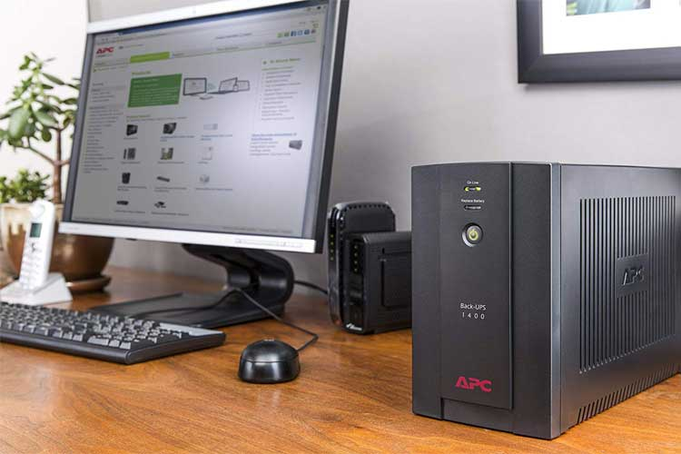 APC Back-UPS BX – BX1400U-FR test