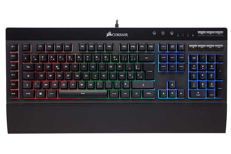 CorsairK55 clavier mécanique