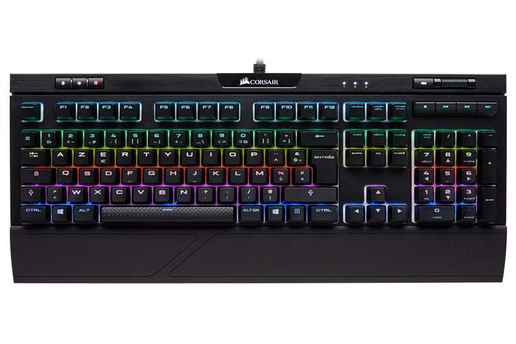 Corsair Strafe RGB MK.2 Silent clavier mécanique