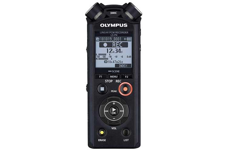 OlympusLS-P4 PCM FLAC dictaphone