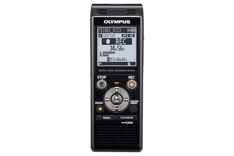 OlympusWS-853 dictaphone