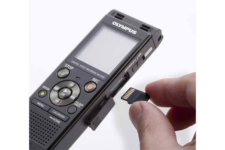OlympusWS-853 test