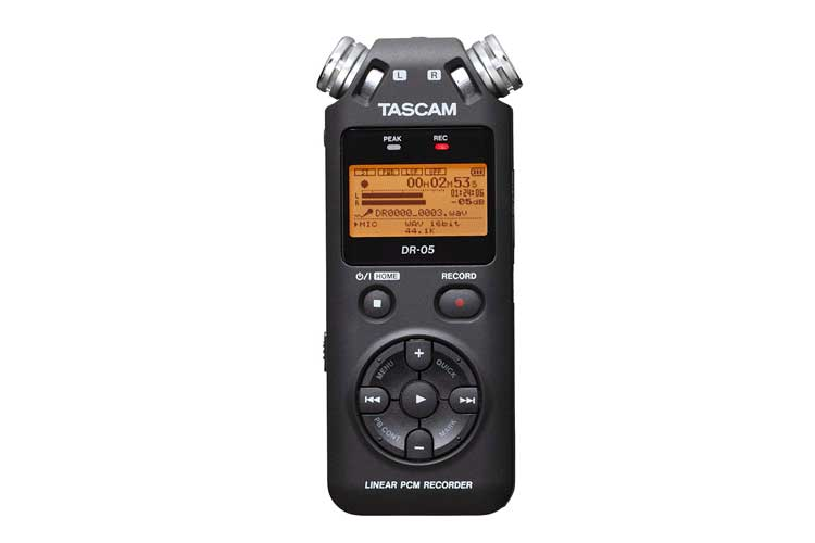 Tascam DR-05 dictaphone