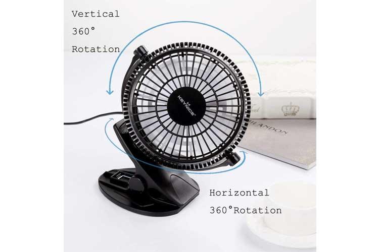 Keynice Mini Ventilateur test