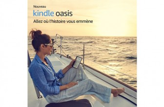 Amazon Kindle Oasis : l'ultime liseuse est maintenant waterproof