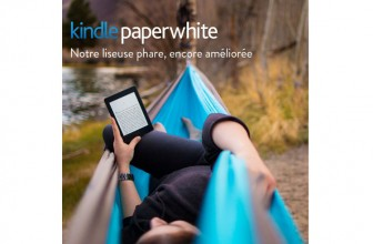 Amazon Kindle Paperwhite : une liseuse de grande valeur