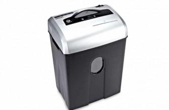 AmazonBasics 10 à 12 feuilles : destructeur de document idéal pour une utilisation individuelle